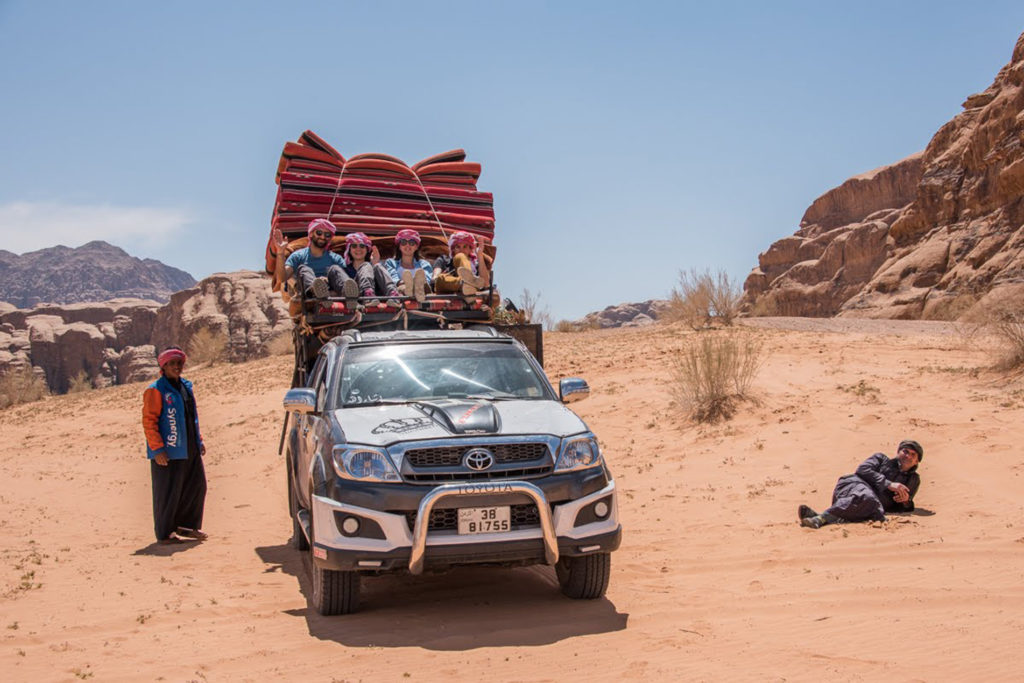 We are bedouins