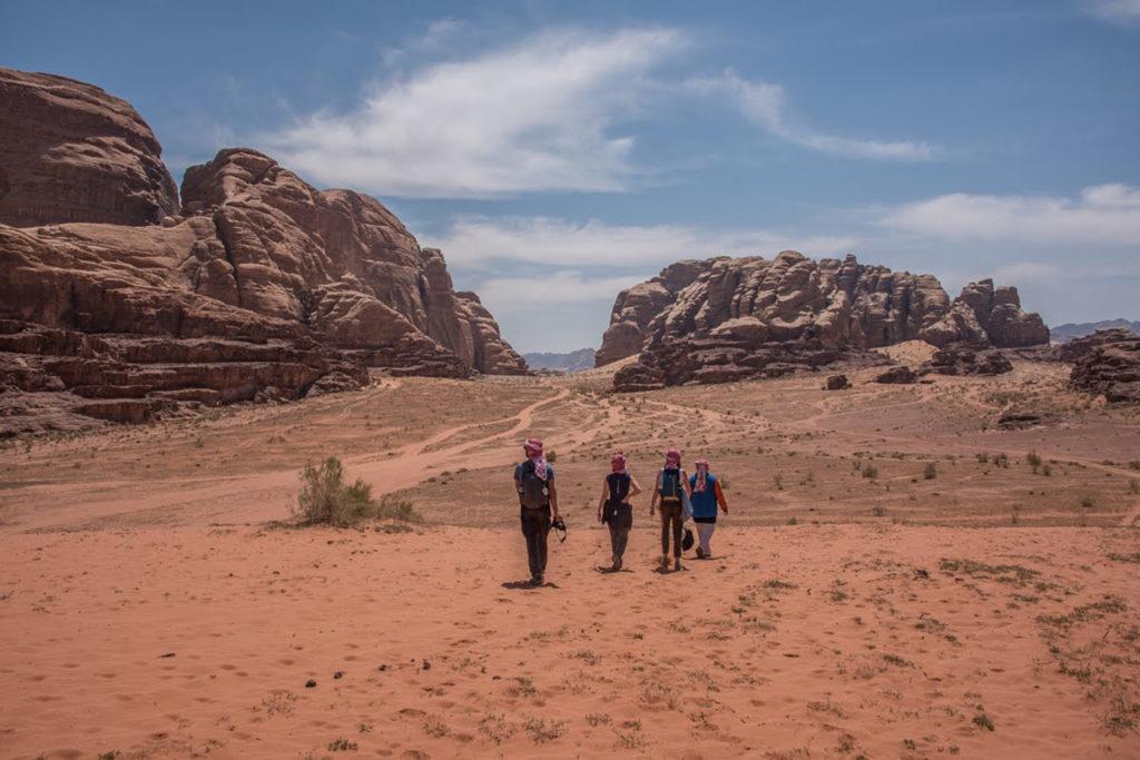 Découvrir le sud du Wadi Rum
