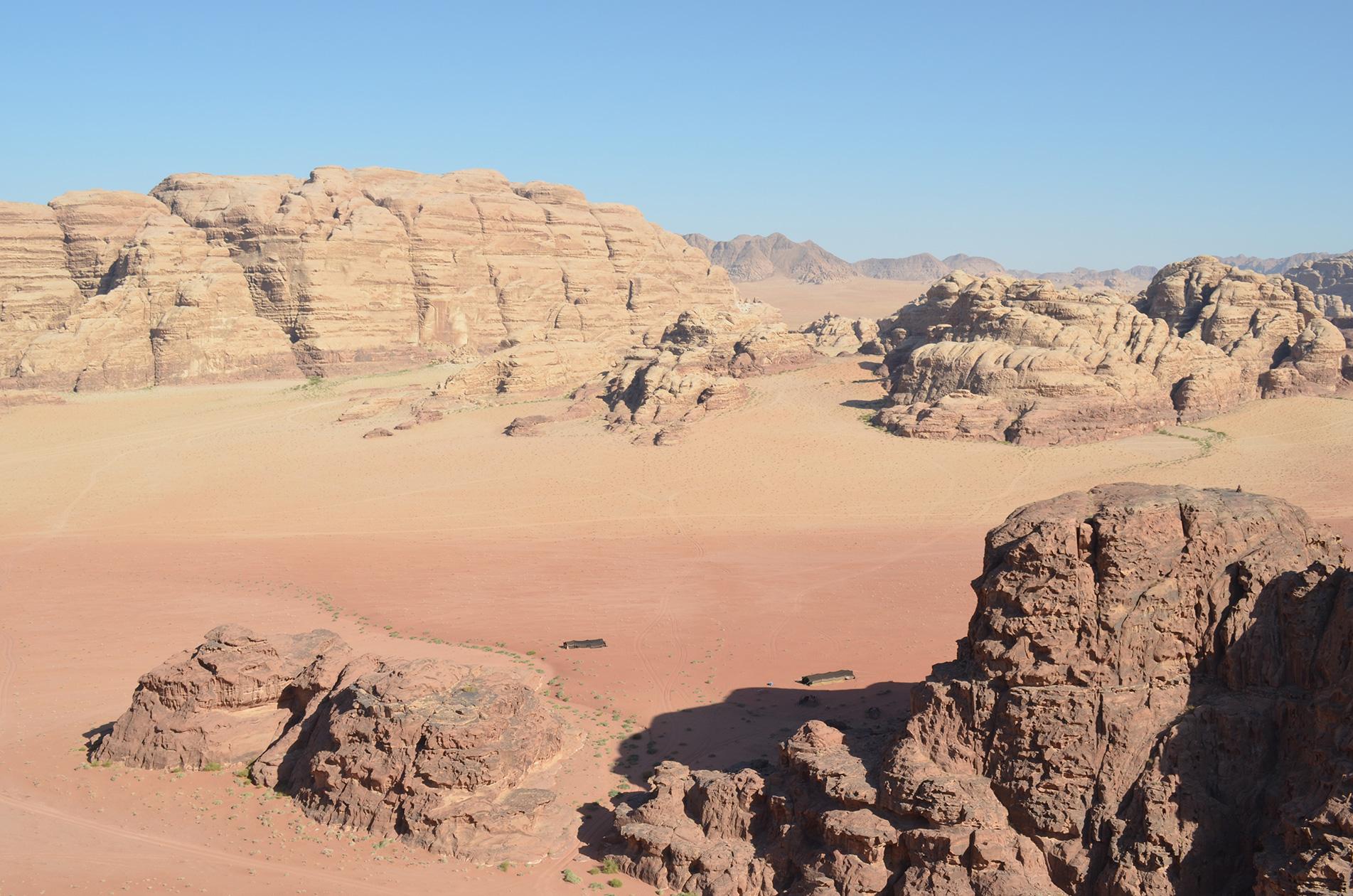 Le désert en danger