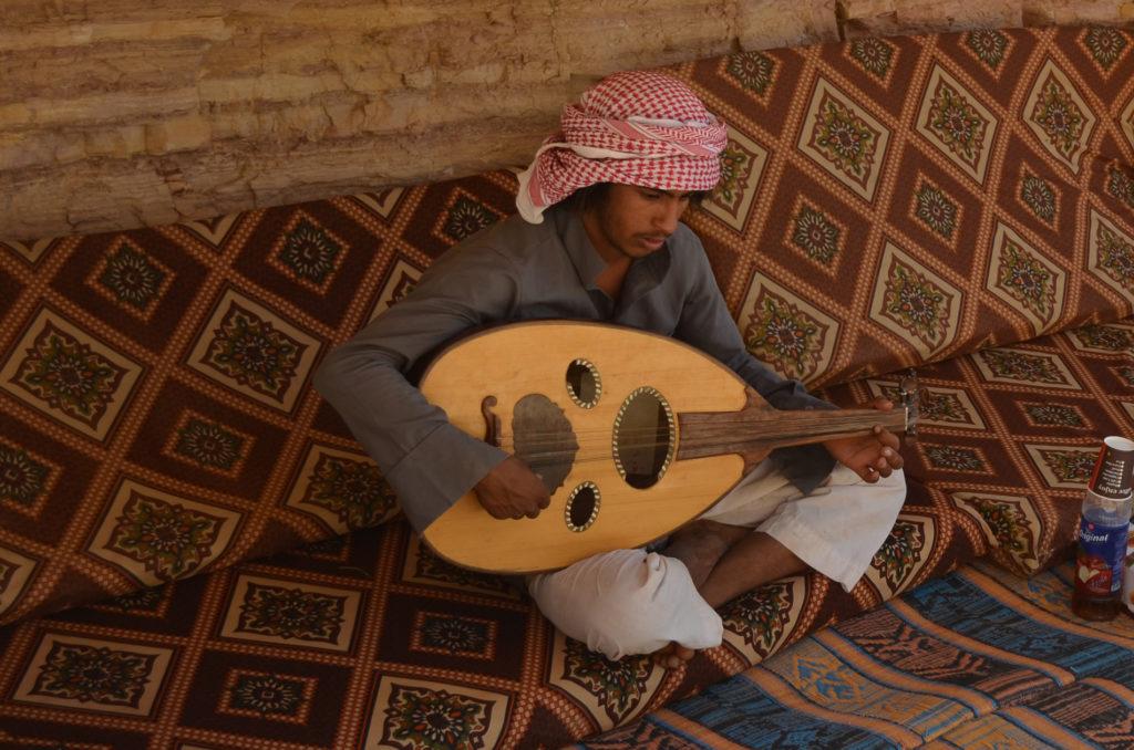 Atallah, le bédouin musicien
