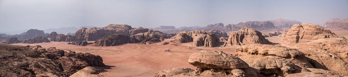 Panorama du Wadi Rum